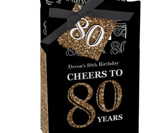 80th Birthday Party Favors For Parties