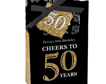 50th Birthday Party Favors For Parties