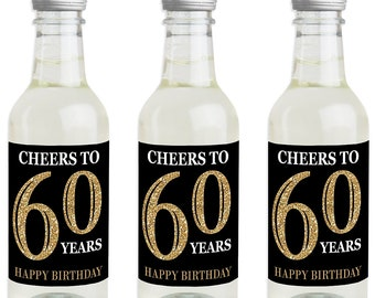 60th Birthday Party Favors