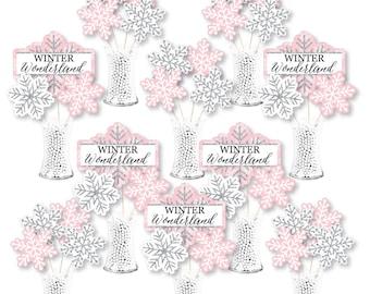 Winter Wonderland Centerpiece Etsy