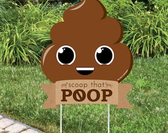 No dog poop sign | Etsy