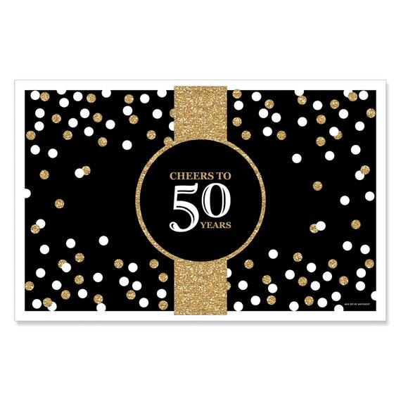 50th Cadeau D/'Anniversaire T Shirt 50 Et Fabuleux Kiss Made in 1969 Femmes Top