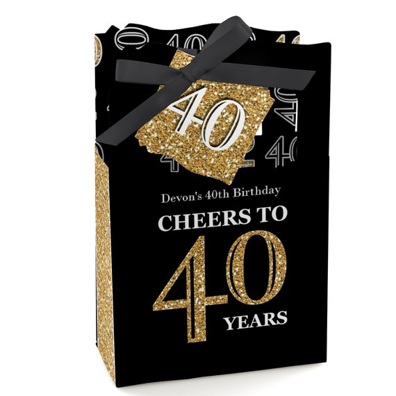 40th Birthday Party Favors For Parties