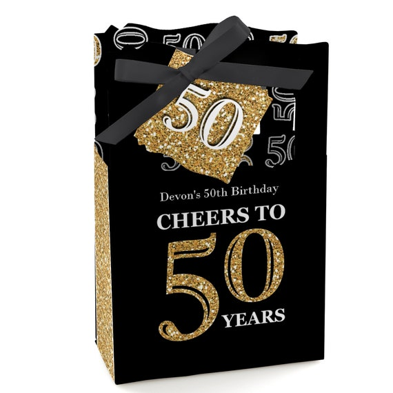 50th Birthday Party Favors For Parties Favor Boxes