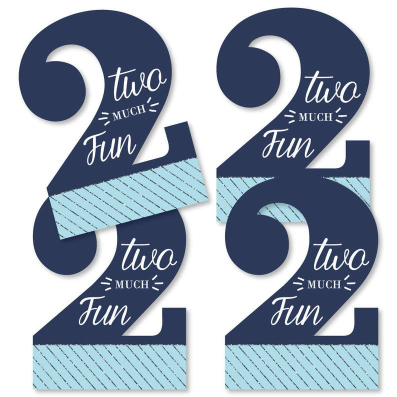 DIY Birthday Decorations Party Essentials 20 Count Boy Birthday Two Much Fun