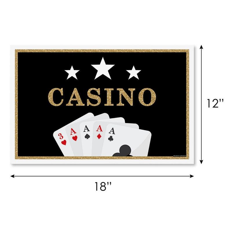 Set of 50 Ladies Bridal Shower Poker Las Vegas Party Favor Labels Girls Night Out Sticker Labels