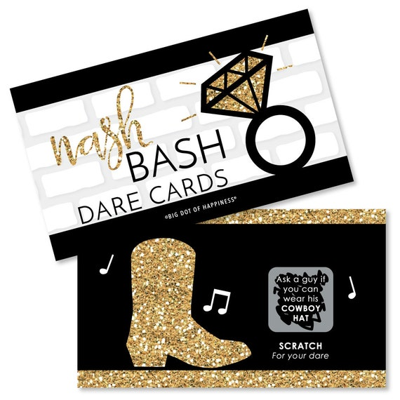 Bride To Be Bar Dare Stickers Bachelorette Party Game 40 Wild Stick /& Wear Dares