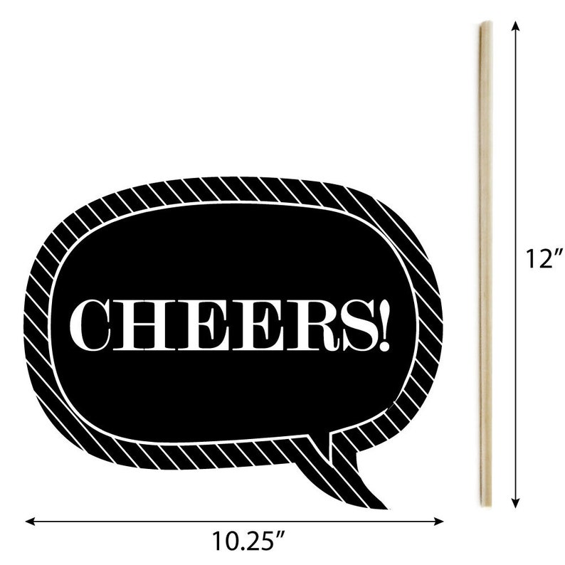 20 Piece 2020 Graduation Party Photo Booth Props Kit Graduation Cheers