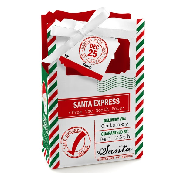 From Santa Claus Christmas Favor Gift Tags Set of 20 Santa/'s Special Delivery