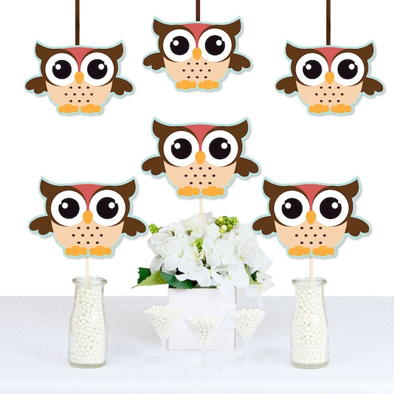 Owl Decorations Diy Owl Shaped Decorations Baby Shower Or