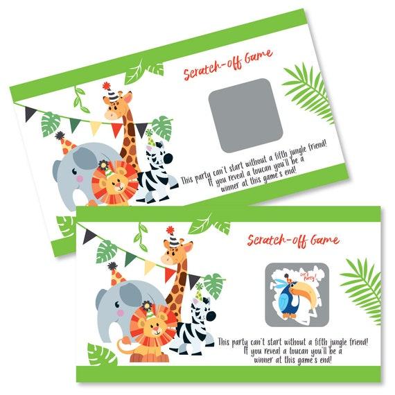 Jungle Party Animals - Birthday & Safari Zoo Animals Party