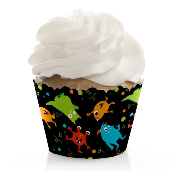 Monster Bash Baby Shower Cupcake Decorations And Supplies