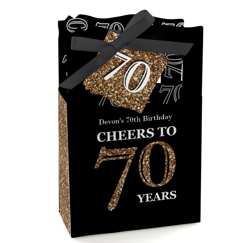 70th Birthday Party Favors For Parties