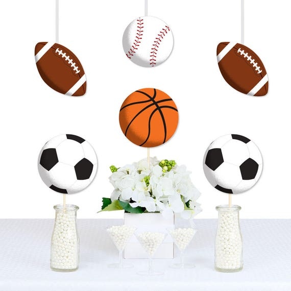 Go Fight Win Sports Diy Decorations Party Essentials Etsy