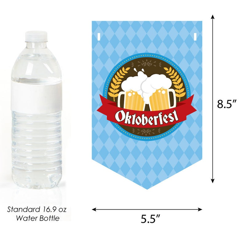 Oktoberfest Personalized Fall Festival Party Decor German Beer Festival Bunting Banner Oktoberfest Hanging Decorations