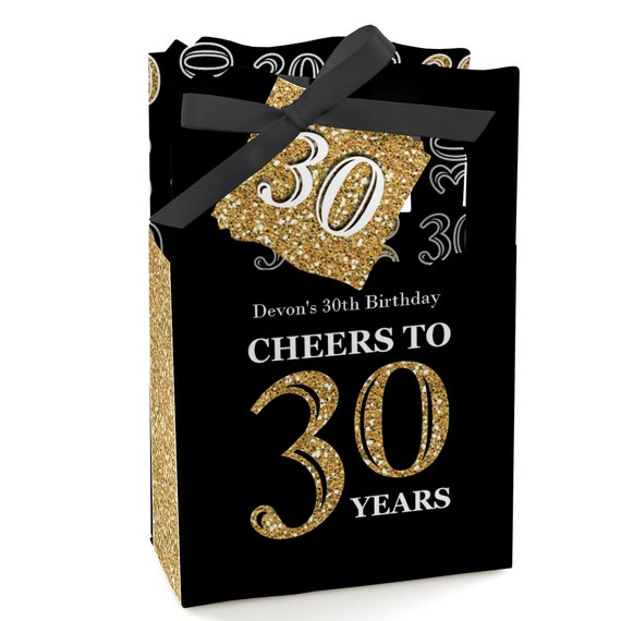 30th Birthday Party Favors For Parties