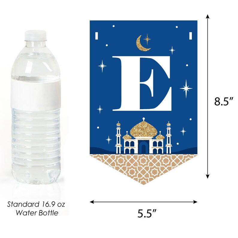 Eid Mubarak Bunting Banner Happy Eid Party Decorations Ramadan EID MUBARAK