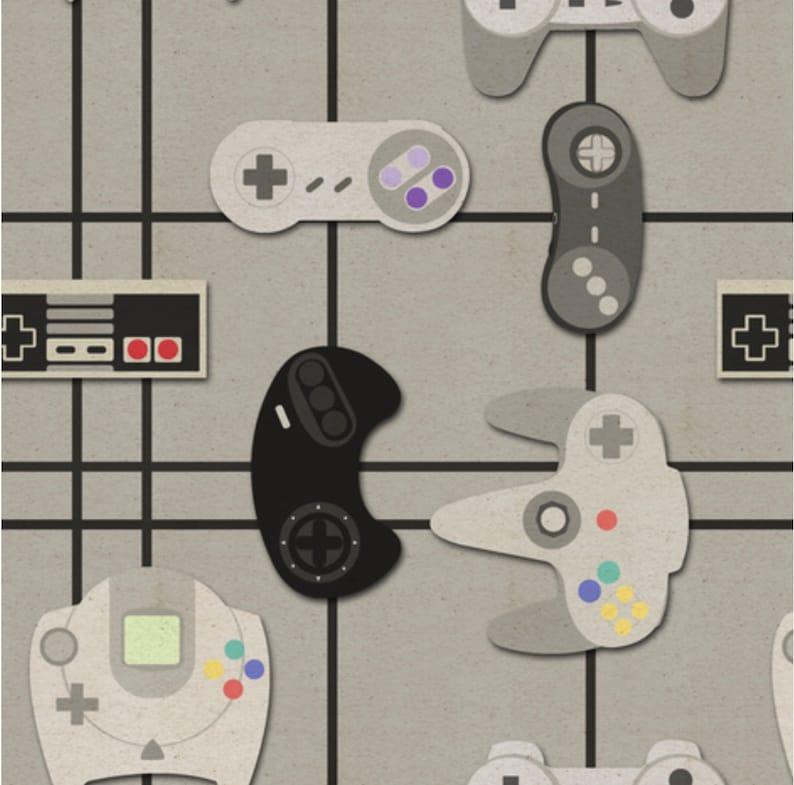 Retro Video Games Video Gamers Soft Minky Waterproof Baby Blanket Geek Gift