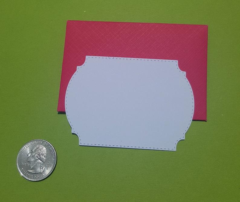 Mini Envelope and Mini Note Card Set gift card envelopes, advice card envelopes, wedding favors, party favors, small envelopes