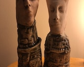Fine porcelain Pothead set
