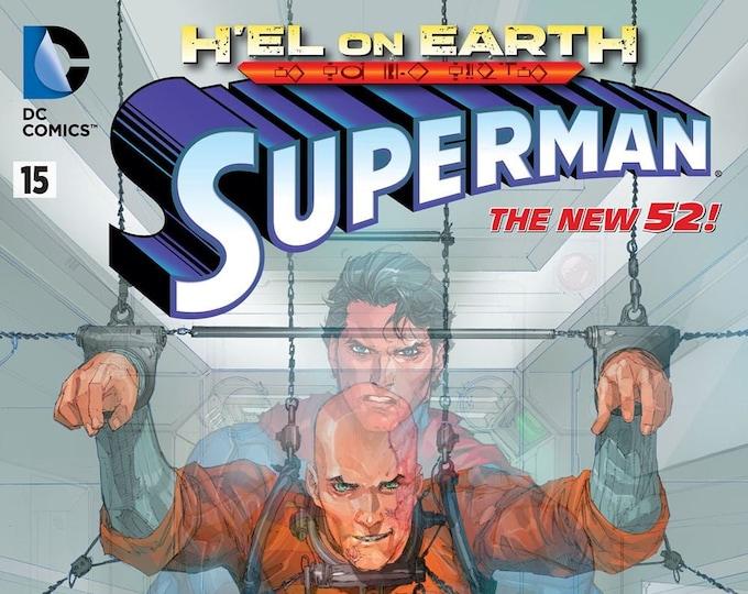 Superman #15 Cover A February 2013 DC Comics Grade NM