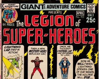 Adventure Comics #403 - March 1971 Issue - DC Comics - Grade VG/F