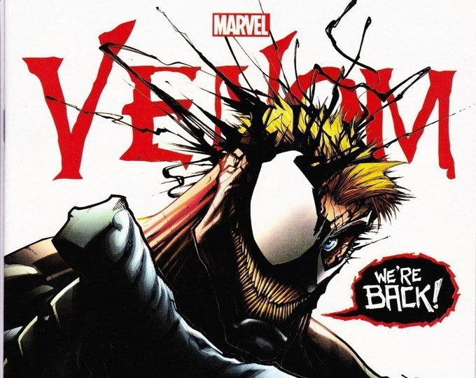 Venom  #6 Cover A  June 2017 Marvel Comics Eddie Brock Reunited With Venom! Grade NM