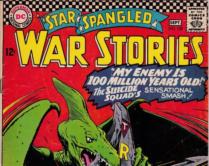Star Spangled War Stories #128   August 1966   DC Comics   Grade VG/F