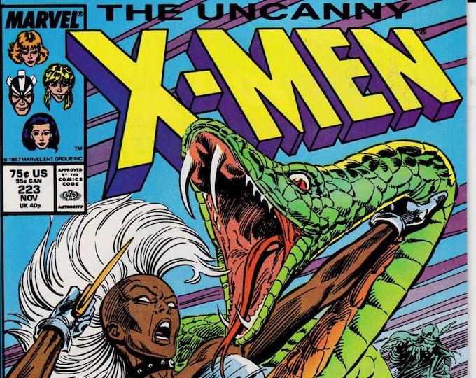 Uncanny X-Men #223   November 1987   Marvel Comics   Grade NM