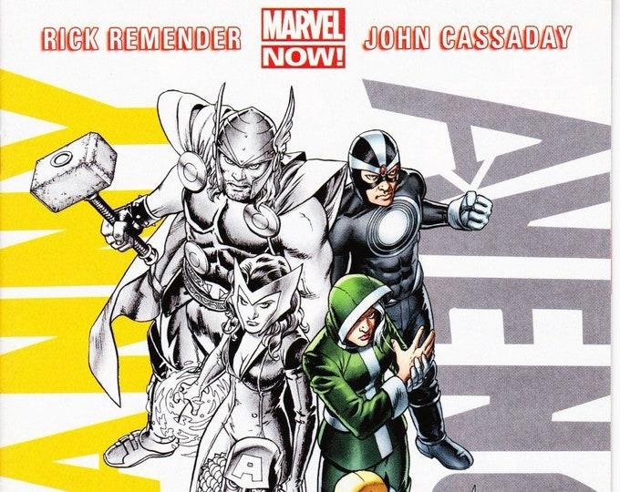 Uncanny Avengers #1 Cover F December 2012 Marvel Comics  Grade NM