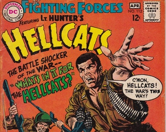 Our Fighting Forces #112  April 1968   DC Comics   Grade VG