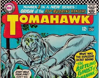 Tomahawk #106 - October 1966 - DC Comics - Grade VG
