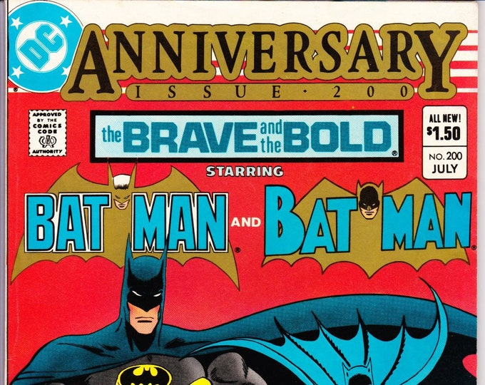 Brave and the Bold #200 July 1983  DC Comics  Grade NM  1st Katana, 1st Geo-Force & 1st Halo 1st Batman and the Outsiders