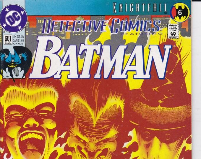 Detective Comics #661  June 1993  DC Comics  Grade NM