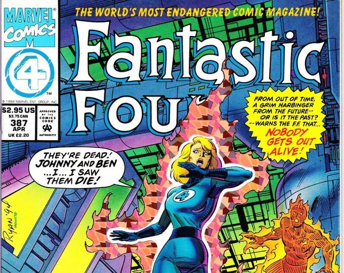Fantastic Four #387  April 1994  Marvel Comics  Grade NM