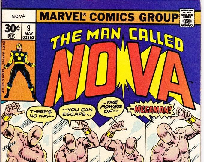 Nova #9 (1st Series 1976) May 1977    Marvel Comics    Grade NM