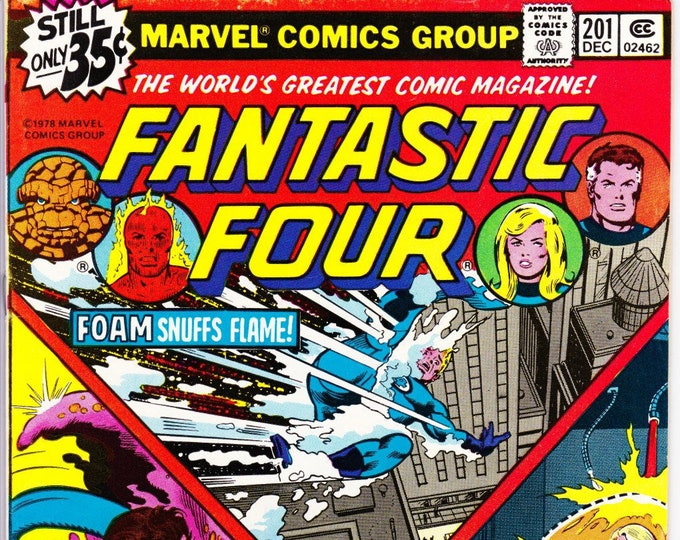 Fantastic Four #201 (1st Series 1961) December 1978  Marvel Comics Grade NM