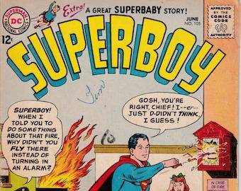 Superboy #105 - June 1963 Issue - DC Comics - Grade G