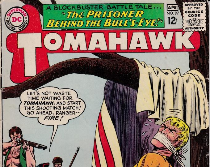 Tomahawk #97  April 1965    DC Comics   Grade VG/F