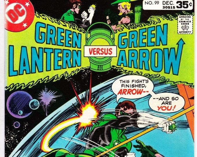 Green Lantern #99 (1st Series 1960-1980) December 1977    DC Comics   Grade NM