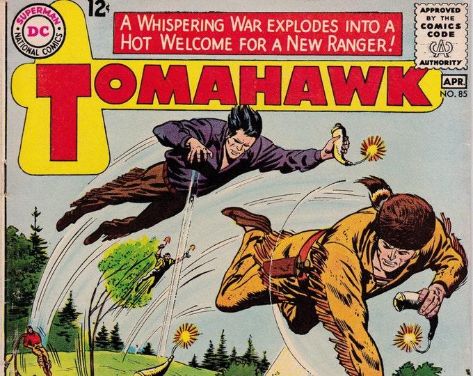 Tomahawk #85    April 1963  DC Comics    Grade Fine