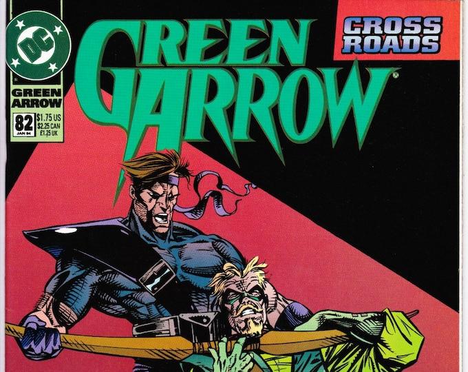 Green Arrow #82 (1st Series 1987) January 1994    DC Comics   Grade NM