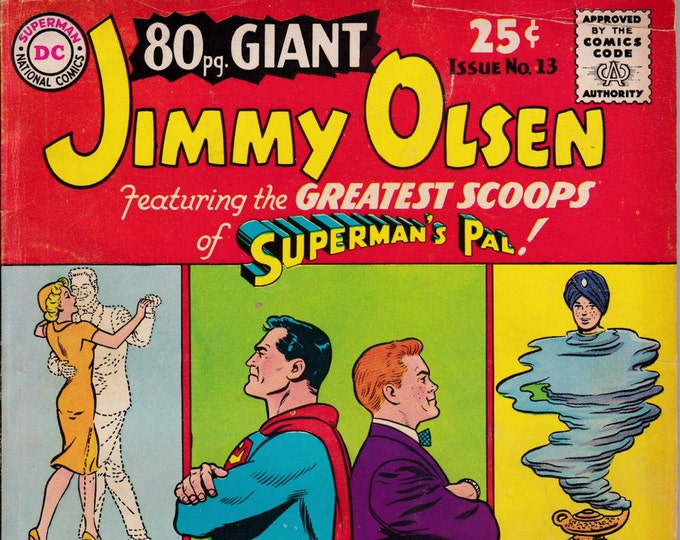 Eighty Page Giant #13  Jimmy Olsen (1964 Series) August 1965  DC Comics  Grade VG