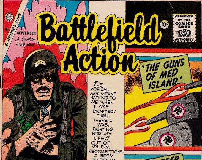 Battlefield Action #29   September 1959   Charlton Comics   Grade VG/F