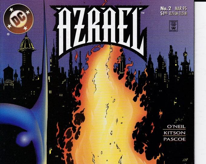 Azrael #2  March 1995 Issue   DC Comics   Grade NM