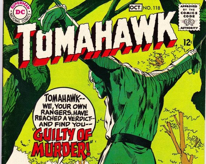 Tomahawk #118 (1st Series 1950) October 1968   DC Comics   Grade VF