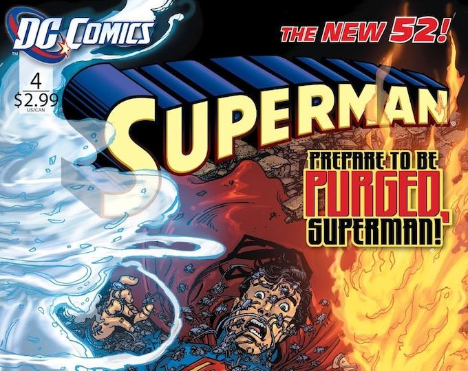 Superman #4 February 2012 DC Comics Grade NM