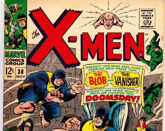 Featured listing image: Uncanny X-Men #38 (1963 1st Series) November 1967  Marvel Comics  Grade VF