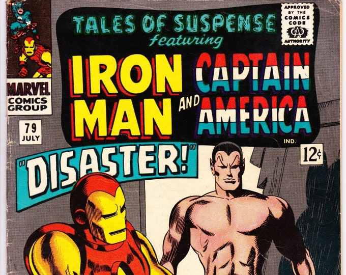 Tales of Suspense #79 (1st Series 1959) July 1966    Marvel Comics   Grade Fine