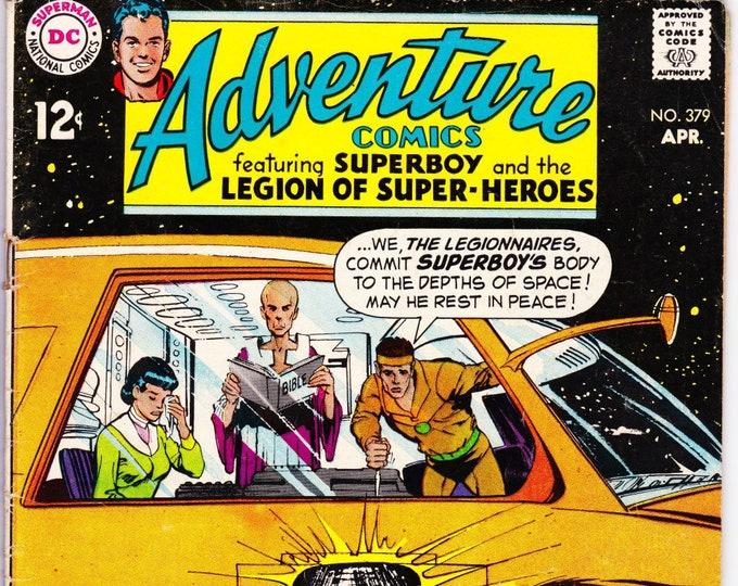 Adventure Comics #379  April  1969  DC Comics  Grade Fine